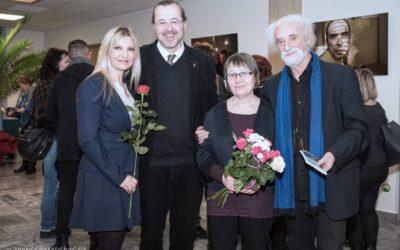 Fotografie zvernisáže výstavy Jindřicha Štreita vKanceláři veřejného ochránce práv